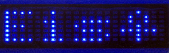 LED-Display-Laufschrift-Anzeige-batteriebetrieben-Leuchtschild-LEDschild-Werbung