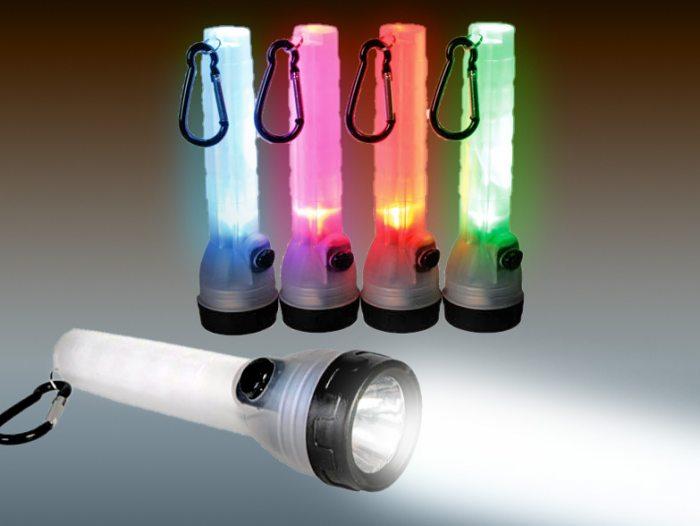 led taschenlampe mit karabinerhaken. Black Bedroom Furniture Sets. Home Design Ideas