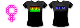 Frauen LED Shirts