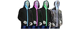 LED-Hoodies
