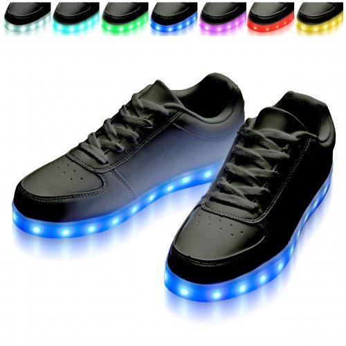 LED-Shoes black