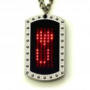 Programmable Led Necklace red