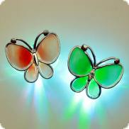LED-Haarclip Schmetterling