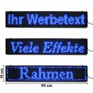 LED Moving Message Display Board blue