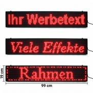 LED Moving Message Display Board red