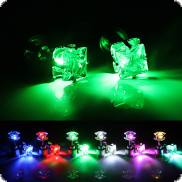 Square LED Light up earrings