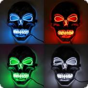 Glowing skull mask