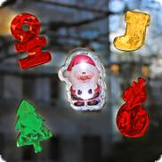 LED gel christmas decoration