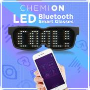 Bluetooth LED-Matrix-Glasses