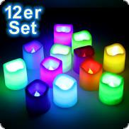 Multicolor Party LED Candles