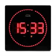 Red LED wall clock