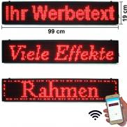 Scrolling Red LED Message Marquee Sign