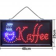 LED sign coffee