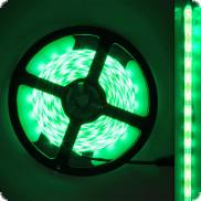 LED decorative cable self-adhesive green