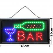 LED sign BAR illuminated advertising light sign neon sign drinks nightlife bar sign buy cheap online