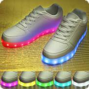 LED-Shoes Sneaker white