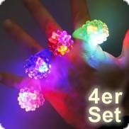 LED-Fingerringe-Set