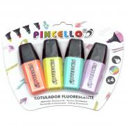 Fluorescent Pincello Marker pastell colors